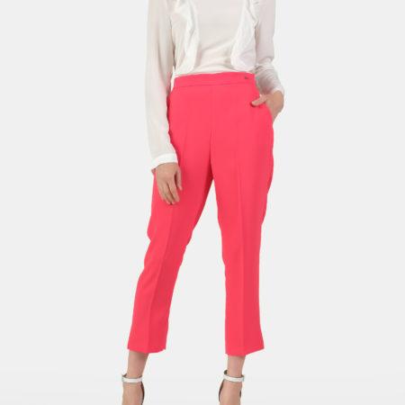 Женские малиновые брюки ELISABETTA FRANCHI
