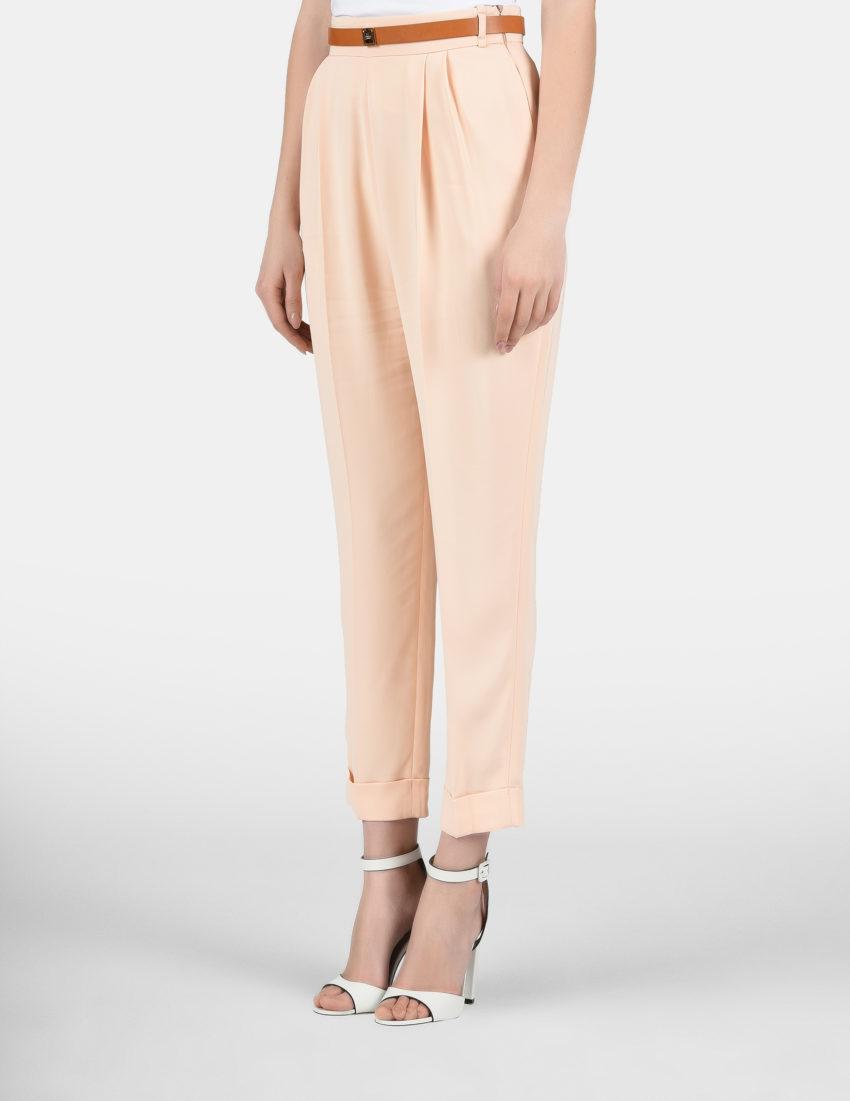 Женские персиковые брюки ELISABETTA FRANCHI