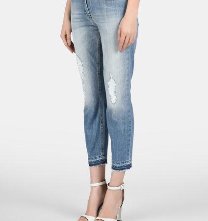 Женские джинсы-бойфренды ELISABETTA FRANCHI