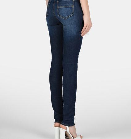 Женские темно-синие джинсы ELISABETTA FRANCHI