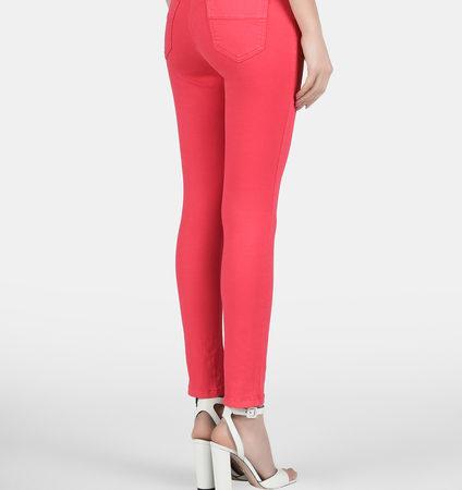 Женские розовые джинсы ELISABETTA FRANCHI