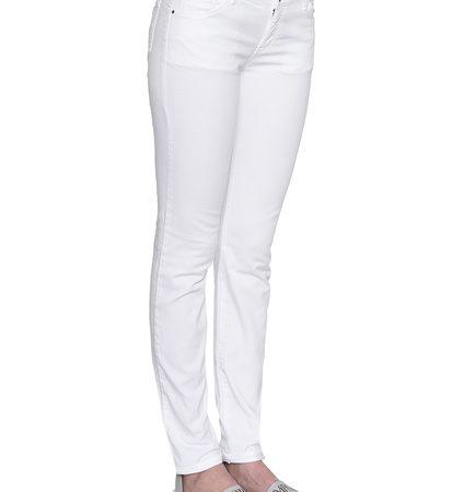 Женские белые джинсы EMPORIO ARMANI