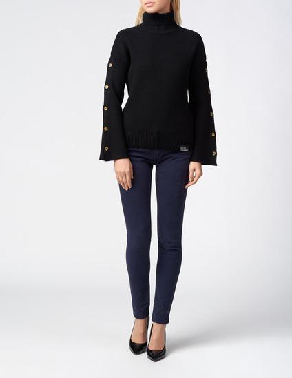 Женские темно-синие джинсы EMPORIO ARMANI