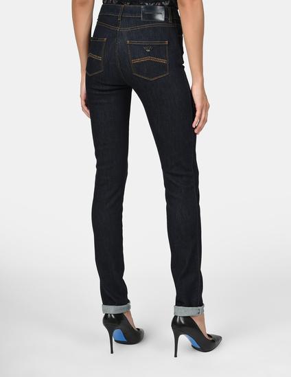 Женские темные джинсы EMPORIO ARMANI