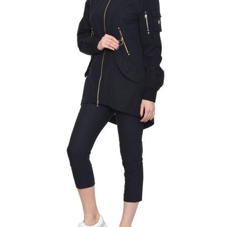 Женская темно-синяя осенняя куртка BOGNER