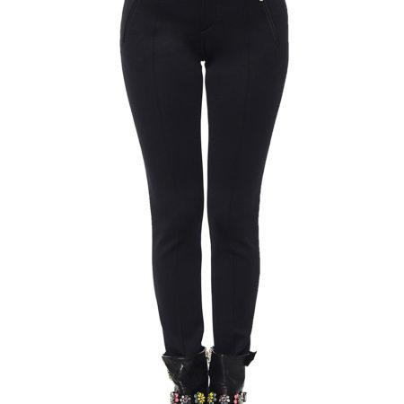 Женские обтягивающие черные брюки BOGNER