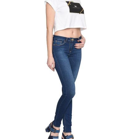 Женские зауженные джинсы ELISABETTA FRANCHI