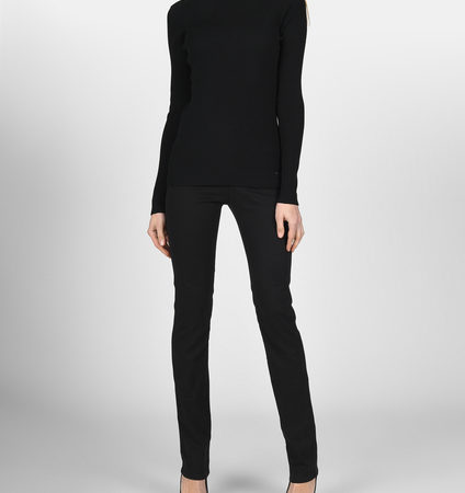 Женские черные джинсы EMPORIO ARMANI