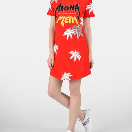 Женское платье Гавайи PHILIPP PLEIN