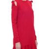 Женское платье с завязками на плечах RED VALENTINO